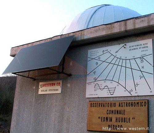 Un esempio di applicazione locale, l'osservatorio astronomico